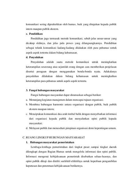 tugas resume buku humas
