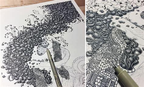 milioni  punti formano intricati disegni