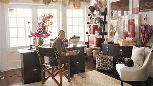 Stylist India Hicks Home Office Design Pottery Barn - YouTube