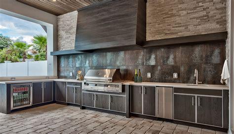 kitchens with islands naturekast weatherproof cabinetry