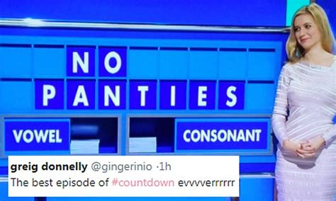 Rachel Riley rearranges Countdown board to read 'no ...
