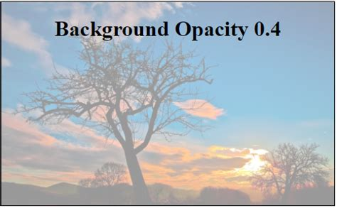 Background Image Opacity Css Css Set Background Image With Opacity Stack Overflow
