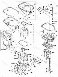 Mercury Force Outboard Parts By Hp  U0026 Serial 40hp Oem Parts