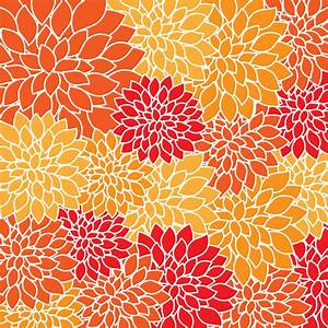 Clipart - Vintage Floral Wallpaper Pattern