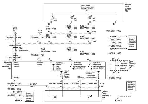 2005 Silverado Heated Seat Wiring Diagram by Repair Guides Seats 2003 Heated Seats Autozone