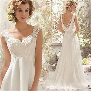 2015 Fashion Flowy Lace Wedding Dresses From Fashion Boutiques