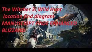 The Witcher 3  Wild Hunt Location Find Diagram Manuscript