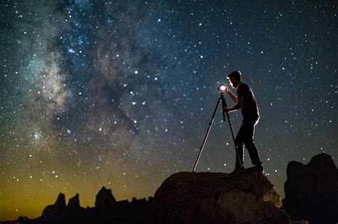 How Photograph The Milky Way With Portrait Subject