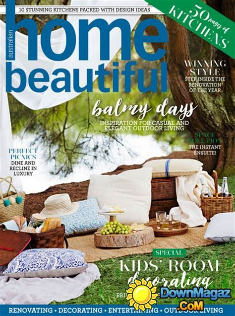 Home Decor Magazines Australia by Australian Home Beautiful March 2016 187 Pdf