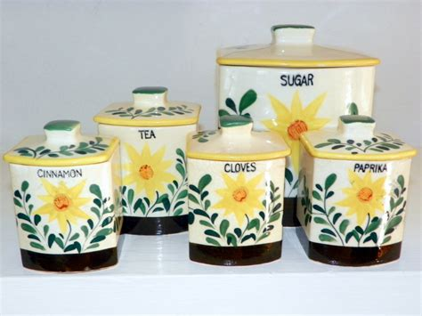 sunflower canisters for kitchen sunflower canister sets kitchen 28 images certified