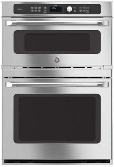 ge cafe ctshss combination wall oven convection