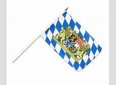 Bavaria lion Hand Waving Flag 12x18