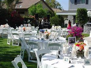 cheap backyard wedding ideas marceladickcom With inexpensive wedding reception ideas