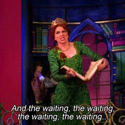 Princess Fiona Waiting GIF - Find & Share on GIPHY
