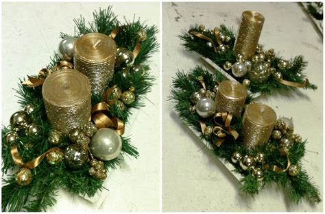 florist in rome gold artificial christmas centerpieces