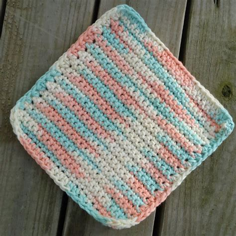 crochet washcloth instructions simple washcloth crochet pattern blessings overflowing
