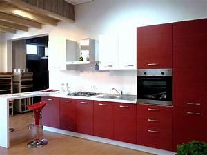 Cucina moderna con penisola 15318 Cucine a prezzi scontati