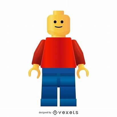 Lego Vetor Vexels Hombre Vektor Ai Template