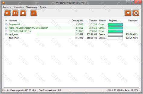 Mega Nz Resume by Software Mega Downloader