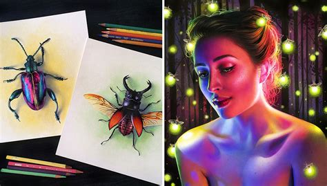 year  artist creates hyper realistic pencil drawings