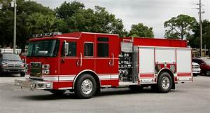 Pierce Saber Pumper Fire Truck - Emergency Equipment