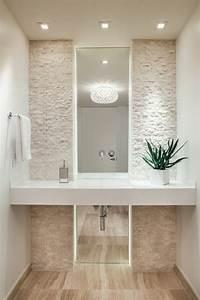 Carrelage Salle De Bain Blanc : carrelage travertin salle de bain et comment le choisir ~ Melissatoandfro.com Idées de Décoration