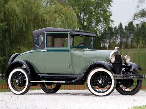 1929 Ford Model A Business Coupe