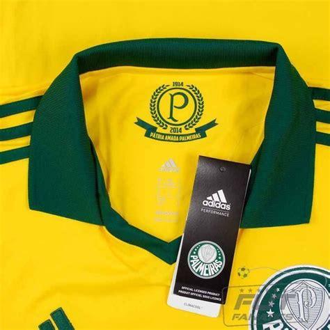 Camisa Adidas Palmeiras III 2014 Centenário - FutFanatics
