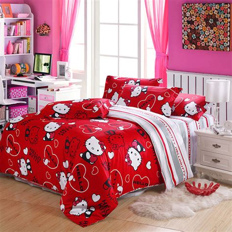 newcotton  kitty duvet covers  kitty queen
