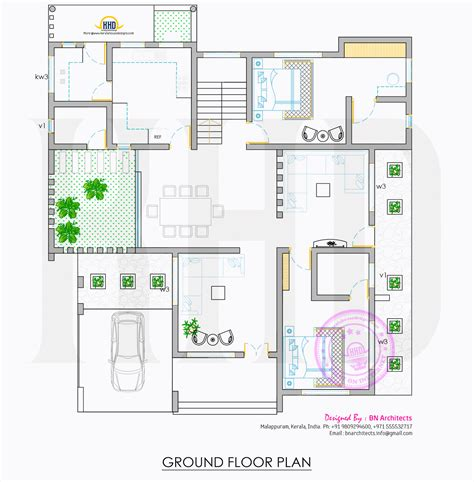 homes floor plans all in one house elevation floor plan and interiors