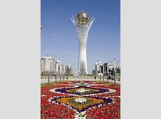 Astana the capital of the Republic of Kazakhstan