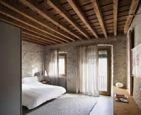 deckenlen fã r schlafzimmer rustic modern interior