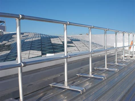Handrail & Walkway Systems For Roofs