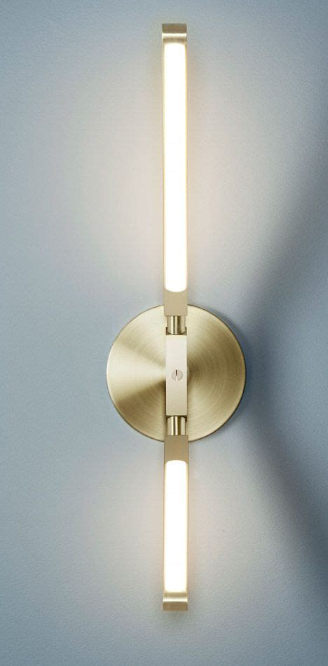 sconce  brass  light  light fixture  interior design