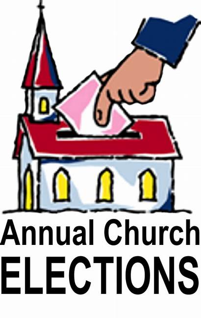 Annual Clipart Elections Meeting Church Election Graphics