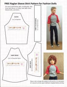 Free Printable Barbie Doll Clothes Patterns