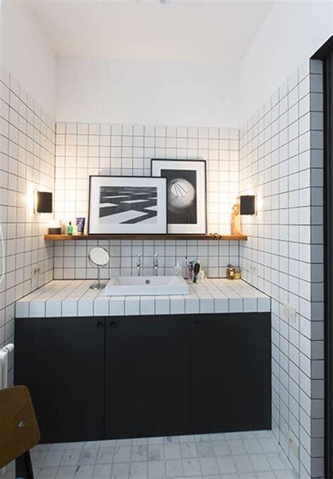 Black And White Bathroom Tile Designs by 30 Black And White Bathroom Wall Tile Designs Ideas And