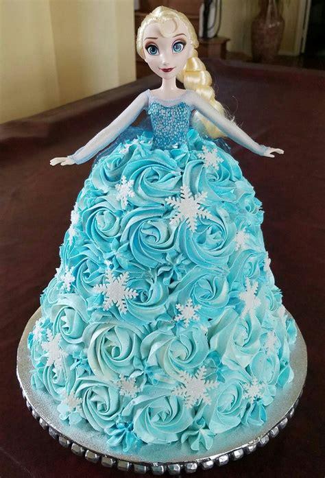 disney frozen elsa doll birthday cake disney frozen dolls
