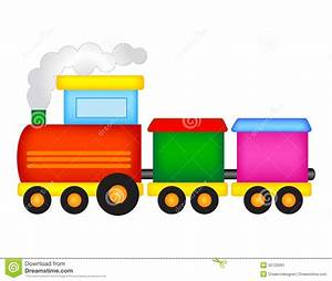 Toy Train Stock Vector - Image: 50725991