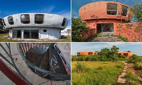 UFO-shaped home in Florida is now overgrown and decrepit ...