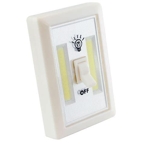 led light switch 2w cob led light switch bright portable l