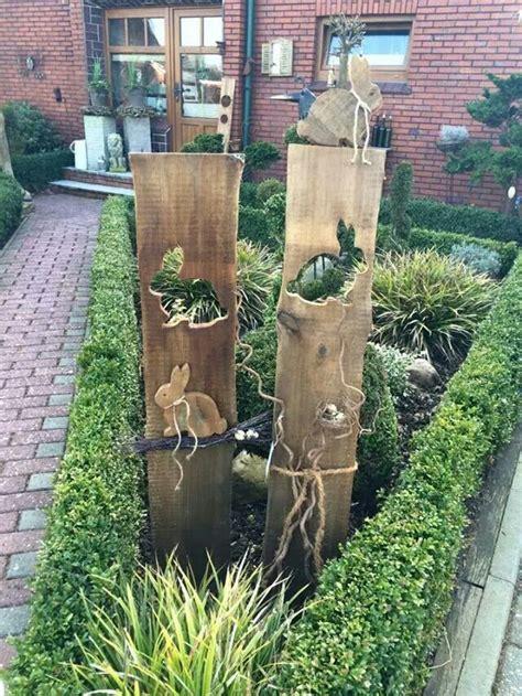 Holz Deko Garten by Gartenstelen Basteln Deko Garten Selber Machen Holz