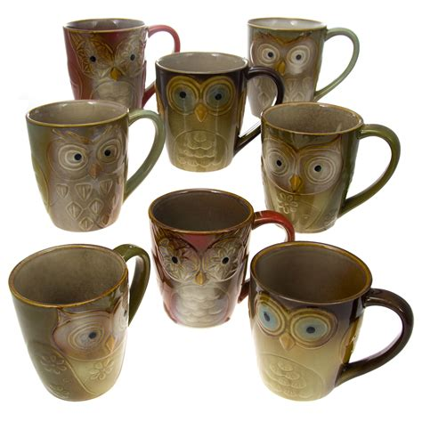 Most relevant best selling latest uploads. Owl Coffee Cup Set