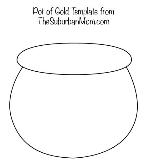 pot of gold template painting rainbows with q tips free printable template thesuburbanmom
