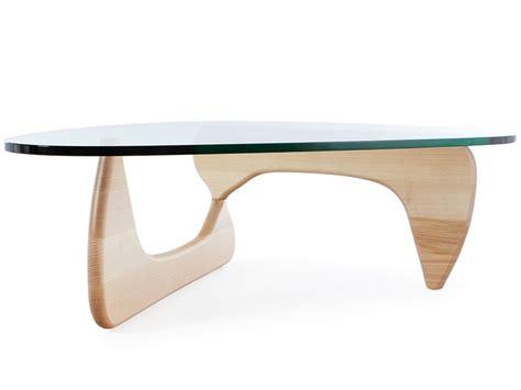 coffee table noguchi light wood