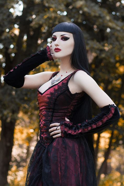 model obsidian kerttu goth goth girl goth fashion