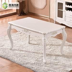 Chine Pas Cher Baroque Blanc Dessus En Marbre Table