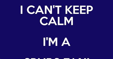 i can t keep calm i m a spurs fan coys keep calm and carry on generator spurs