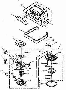 Eureka 5150a Upright Vacuum Parts