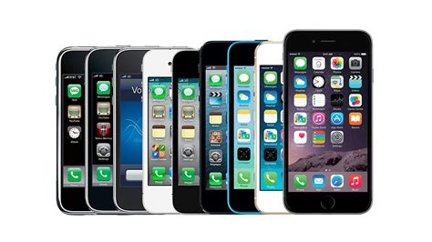 history of iphone iphone a visual history the verge